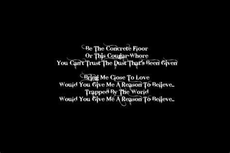 the background lyrics lyric wallpapers wallpapersafari