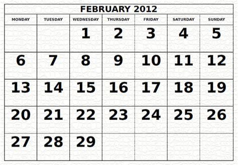 February 2012 Calendar Wallpapers Free February 2012 Calendar