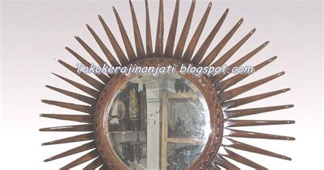 Cermin Hias Jati kerajinan kayu jati cermin hias kayu jati