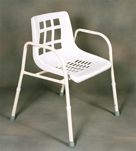 Static Shower Chair by Shower Chair Aluminium Wide 135 Kg