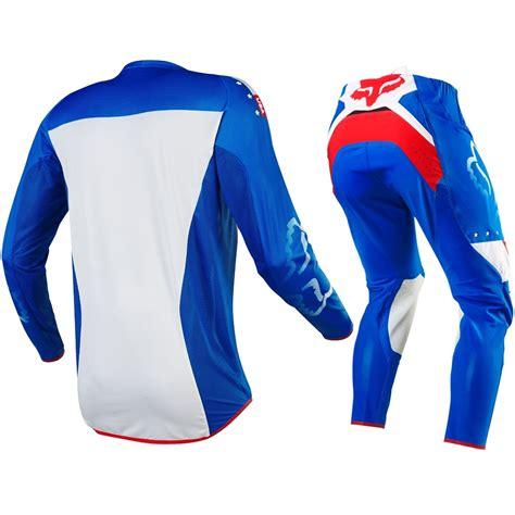 motocross gloves usa fox racing 2016 mx le flexair mxon usa blue