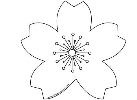 fiore disegni fiore di pesco da colorare disegni da colorare