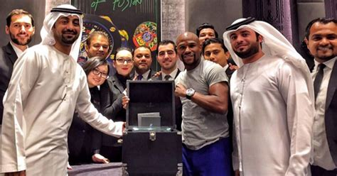 mayweather watch floyd mayweather splashes the cash again as boxing star