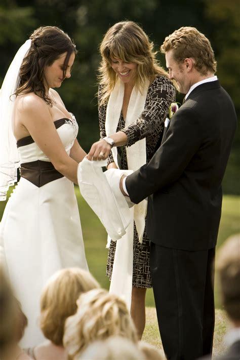 Wedding Ceremony Handfasting by Wedding Ceremony And Theobald