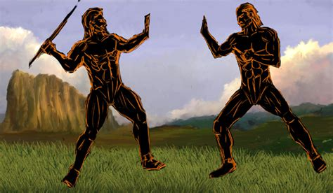 doodle how to make kronos zeus versus kronos
