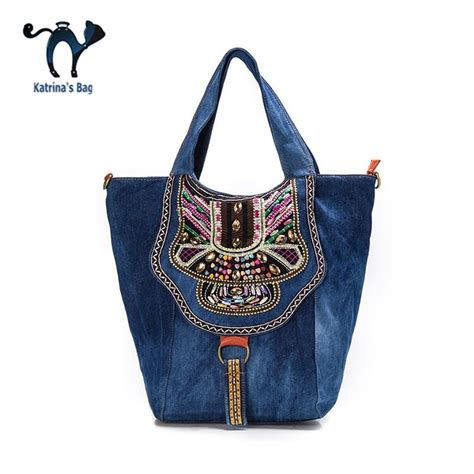 Handmade Denim Handbags - buy wholesale handmade denim handbags from china