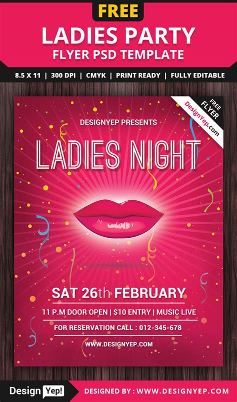 55 Free Party Event Flyer Psd Templates Designyep Celebration Flyer Template Free