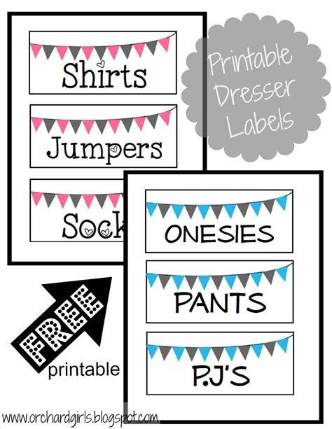 printable drawer labels pin printable drawer labels for kids on pinterest
