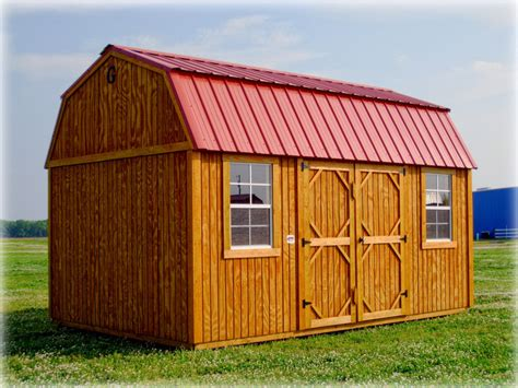 Side Lofted Barn Cabin by Graceland Side Lofted Barn Discount Portable Buildings