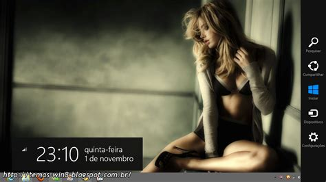 hot themes windows 8 temas win8 tema blonde girl windows 8 lite
