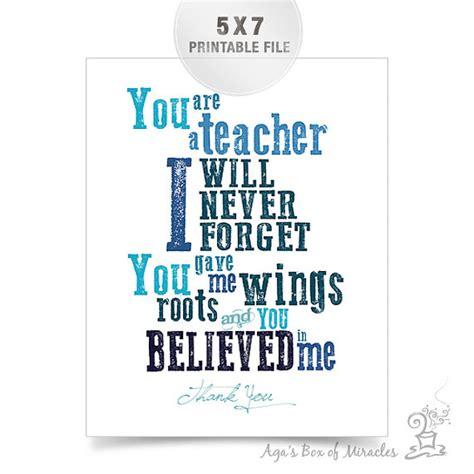 printable quotes about teachers blue teacher appreciation printable thank you teacher