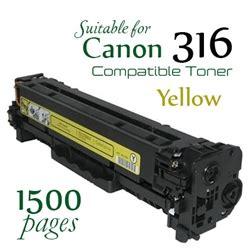 Canon 316 Cymk Compatible Bergaransi compatible canon 316 yellow