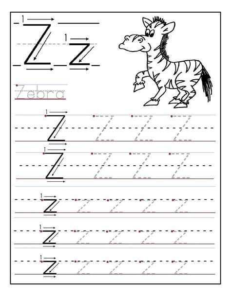 printable preschool letter activities letter z kindergarten worksheets simple loving printable