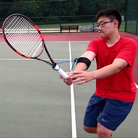 tennis swing tennis swing wrist training aid for forehands backhands