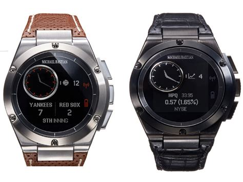 Hp Smartwatch Hp S Mb Chronowing Is The Best Looking Smartwatch So Far