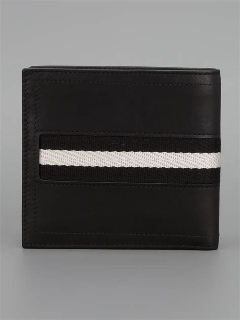 Bally Wallet bally tollent wallet in black for lyst
