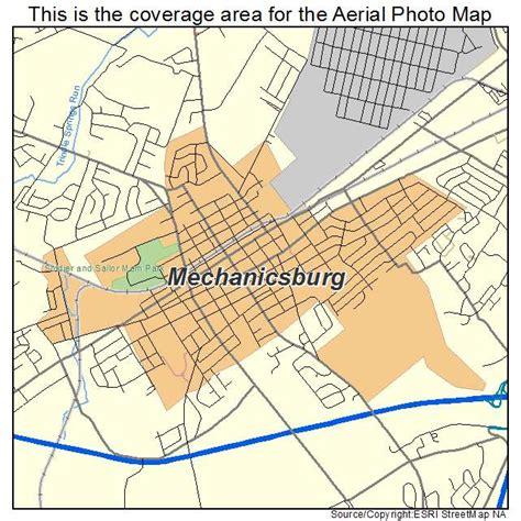mechanicsburg pennsylvania map missouri map
