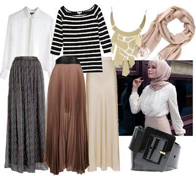 Kalung Fashion By Kerja Bersama mix match busana muslim tutorial