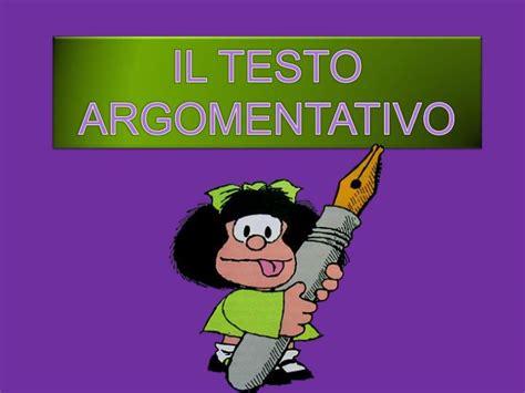 il testo argomentativo ppt il testo argomentativo powerpoint presentation id