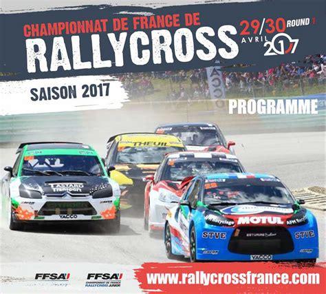 Calendrier 2018 Rallycross Programme Du Rallycross D Essay 2017 Rallycrossfrance Info