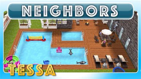 design clothes neighbor sims freeplay sims freeplay tessa s house neighbor s original house