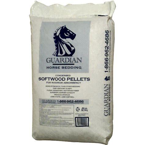 horse bedding pellets guardian horse bedding softwood pellets 40lb southern