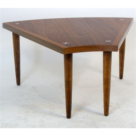 Low Side Table by Vintage Style Walnut Side End Low Table Ebay