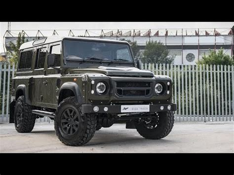 land rover defender 2015 4 door 2015 land rover defender khan ctc design youtube
