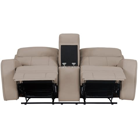 microfiber reclining loveseat with console city furniture rhett taupe microfiber power reclining