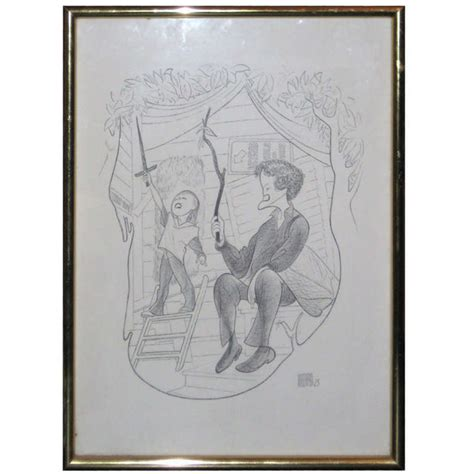 doodle pen for sale al hirschfeld pen and ink drawing for sale antiques