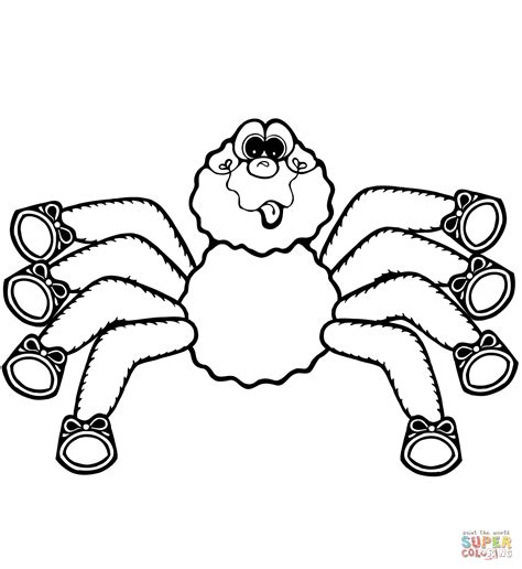 black spider coloring page spider coloring pages vitlt com