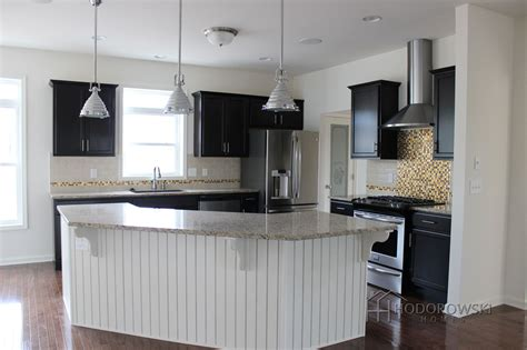 Wainscoting Kitchen Cabinets by Picture Kitchen White Wainscot Island With Java
