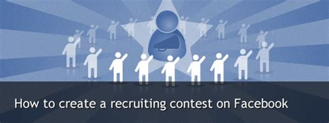 How To Set Up A Giveaway On Facebook - how to create a recruiting contest on facebook with easypromos