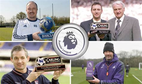epl manager of the month premier league manager of the month how many awards has