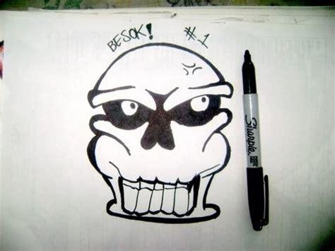 imagenes de calaveras grafitis como dibujar una calavera graffiti caracter paso a paso