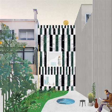architectural collage  catching    firms