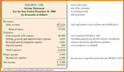 14 four financial statements financial statement form