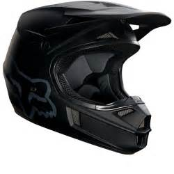 fox helmet motocross fox racing youth v1 matte black motocross helmet