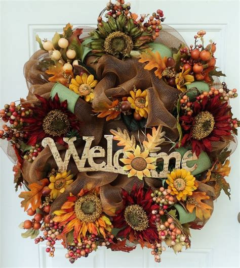 home decor wreaths thanksgiving wreath crafts to decor your house in 2015