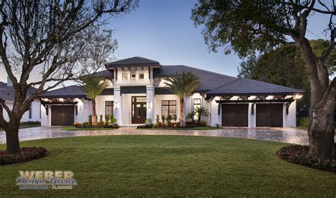 contemporary florida style home plans florida house plans architectural designs stock