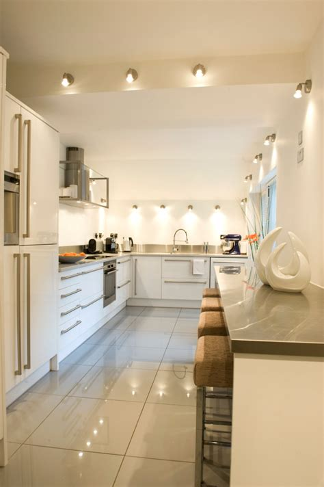 long narrow kitchen designs take inspiration from luxury properties home bunch
