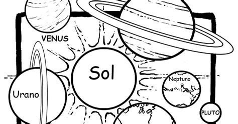 imagenes de universo para colorear pinto dibujos dibujo de sistema solar para colorear