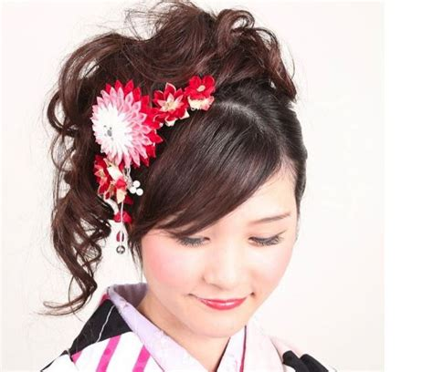 Traditional Japanese Hairstyles by Kimono Hair In Japan