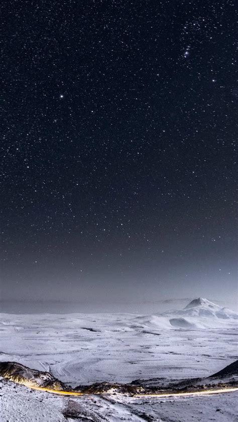 minimalist ice landscape wallpapers