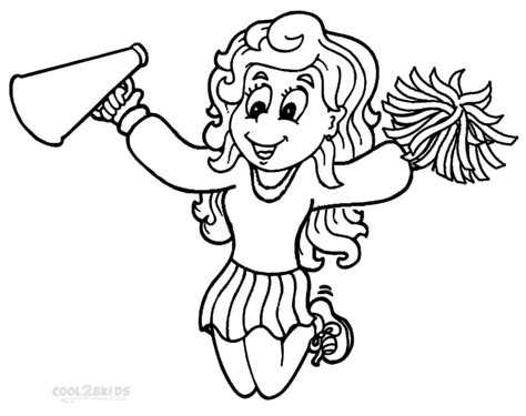cheerleading coloring pages free coloring pages of pom poms and megaphone