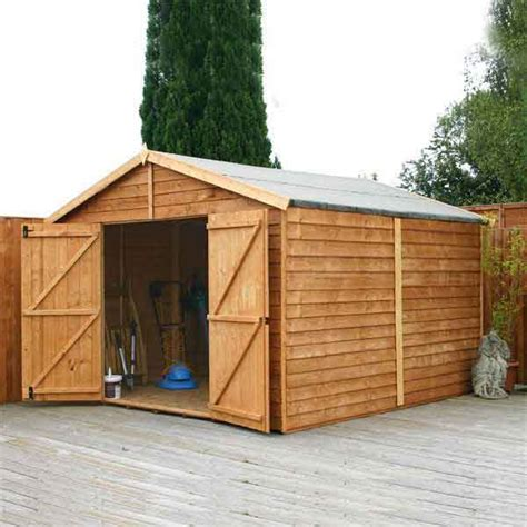 15 X 15 Storage Shed by 15 X10 Garden Shed Wood Storage Windowless Wooden Sheds 15ft X10ft New Un Used Ebay