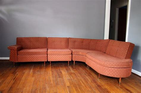 retro sectional retro sofa cool seating