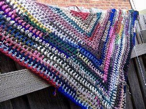 simple triangle shawl allfreecrochetcom
