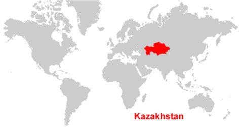 map world kazakhstan kazakhstan map and satellite image