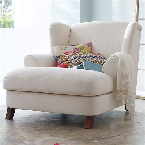 small white bedroom chair dream chair via somewhere north to build a home